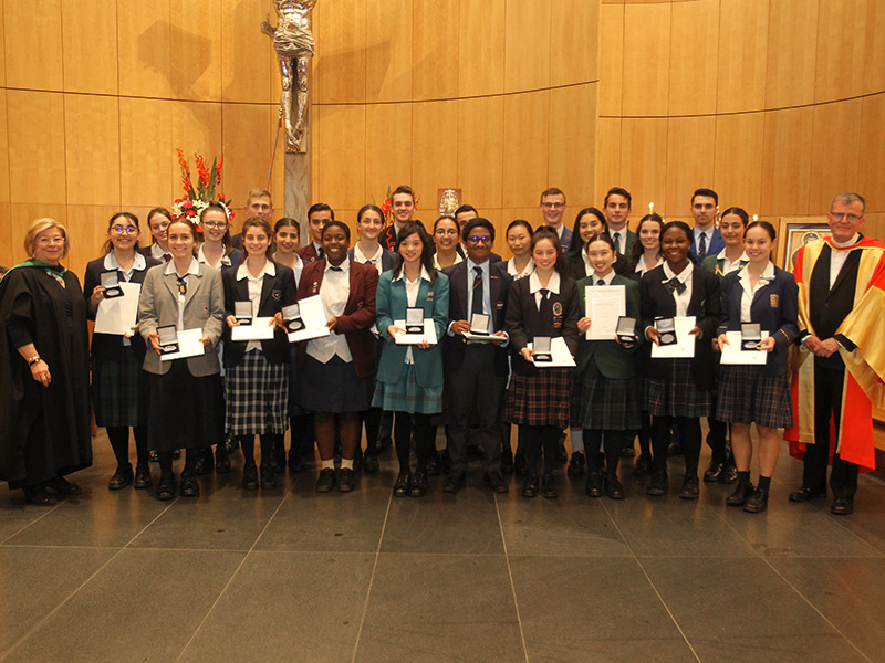2019 Bishop of Parramatta Awards for Student Excellence 1